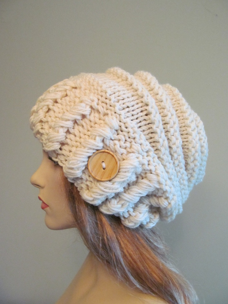 Beautiful Cream Oversized Winter Hat Slouchy Beanie Via Etsy Slouchy Winter Hat Of Top 47 Models Slouchy Winter Hat