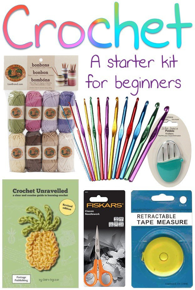 Beautiful Crochet A Starter Kit for Beginners Beginners Crochet Kit Of Amazing 49 Photos Beginners Crochet Kit