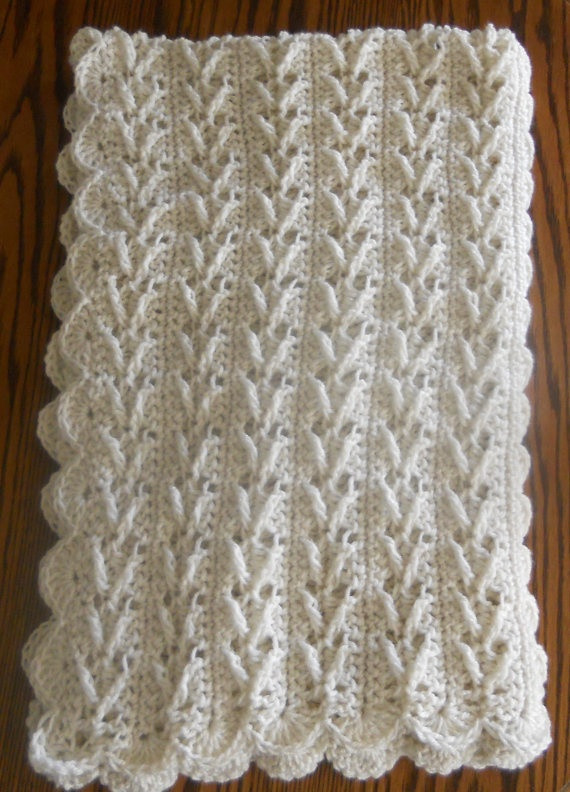 Beautiful Crochet Afghan Lapghan 34×50 Ecru Arrow by Lapghan Crochet Patterns Of Wonderful 47 Pics Lapghan Crochet Patterns