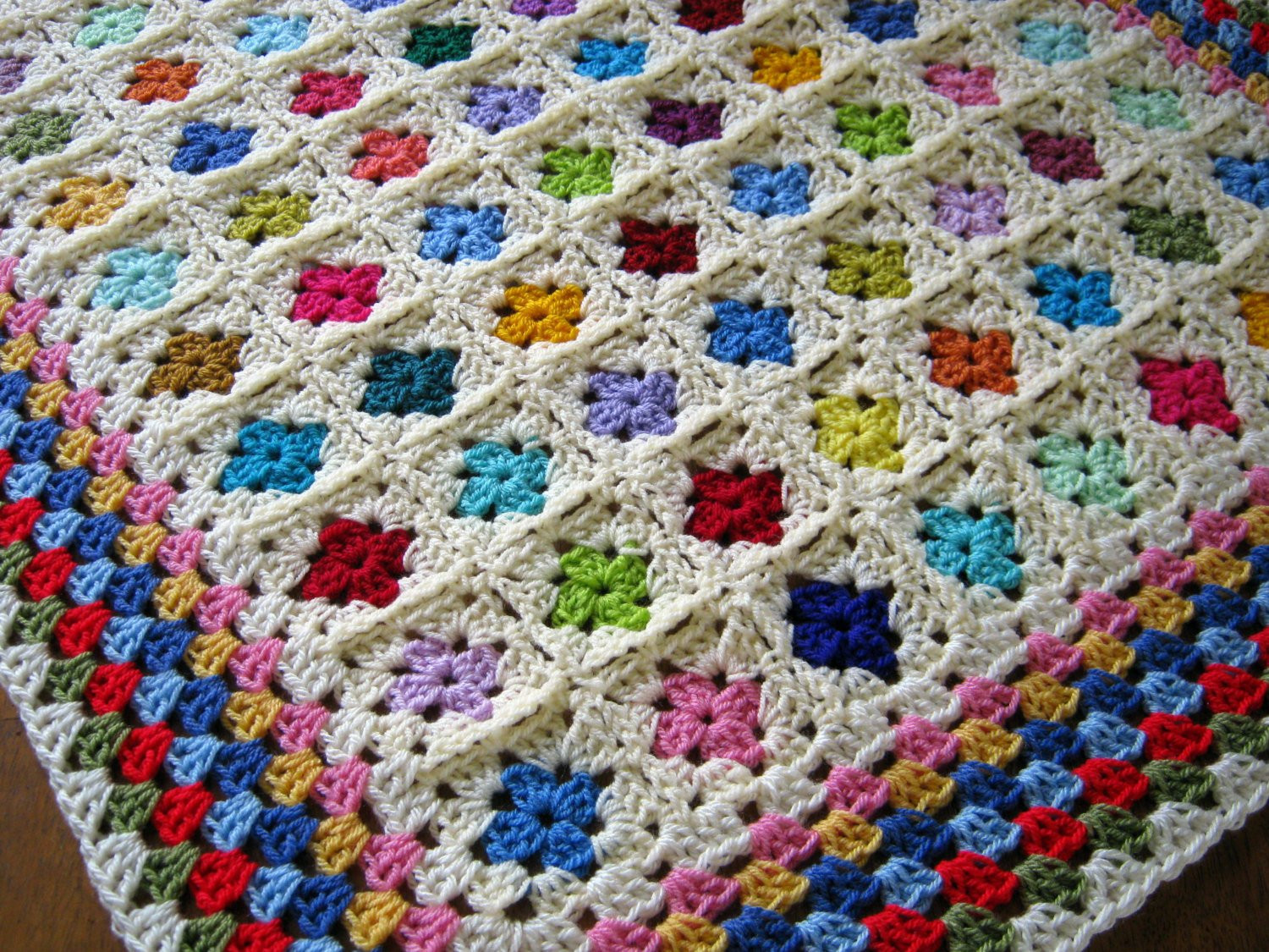 Beautiful Crochet Baby Afghan Blanket Miniature Mini Granny by Granny Square Baby Blanket Pattern Of Innovative 45 Images Granny Square Baby Blanket Pattern