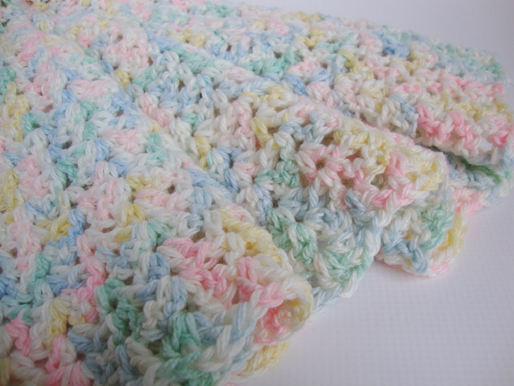 Beautiful Crochet Baby Blanket Crib Size Blanket Baby Blanket by toivima Baby Blanket Size Crochet Of Contemporary 49 Pictures Baby Blanket Size Crochet