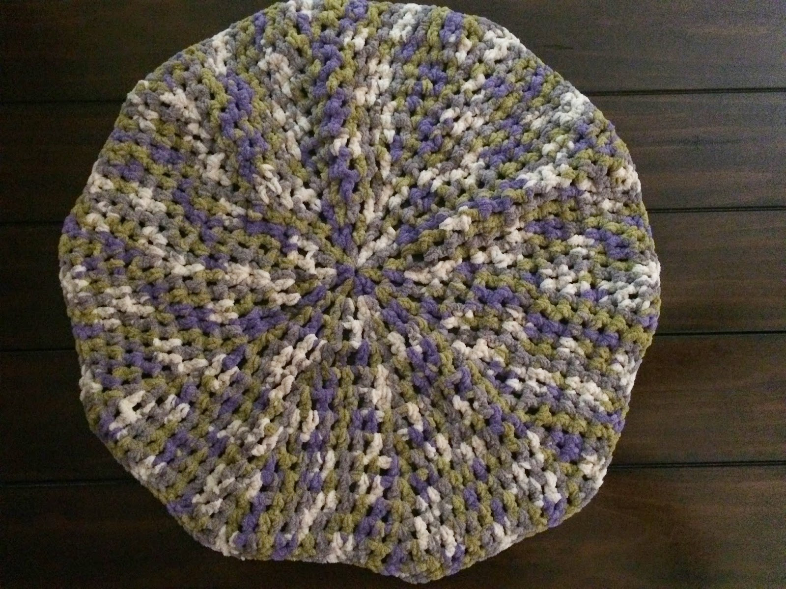 Beautiful Crochet Baby Blanket In the Round – Continuous Spiral No Round Crochet Pattern Of Unique 50 Models Round Crochet Pattern