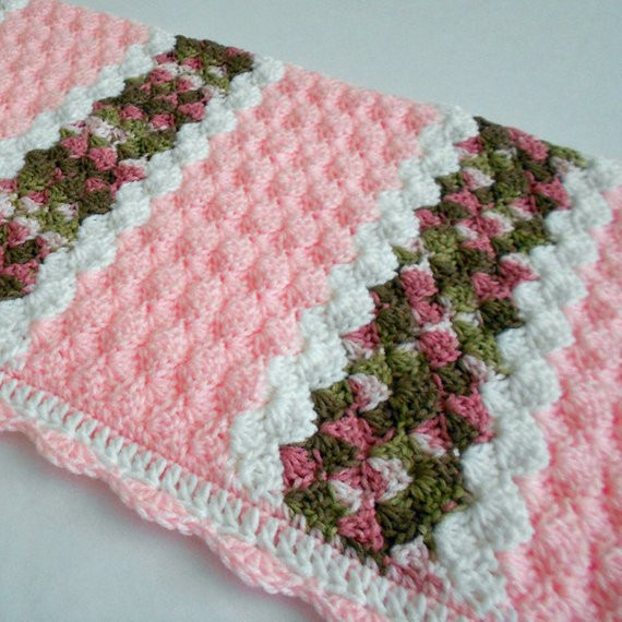 Beautiful Crochet Baby Blanket Pink Crocheted Baby Afghan Lapghan or Lapghan Crochet Patterns Of Wonderful 47 Pics Lapghan Crochet Patterns