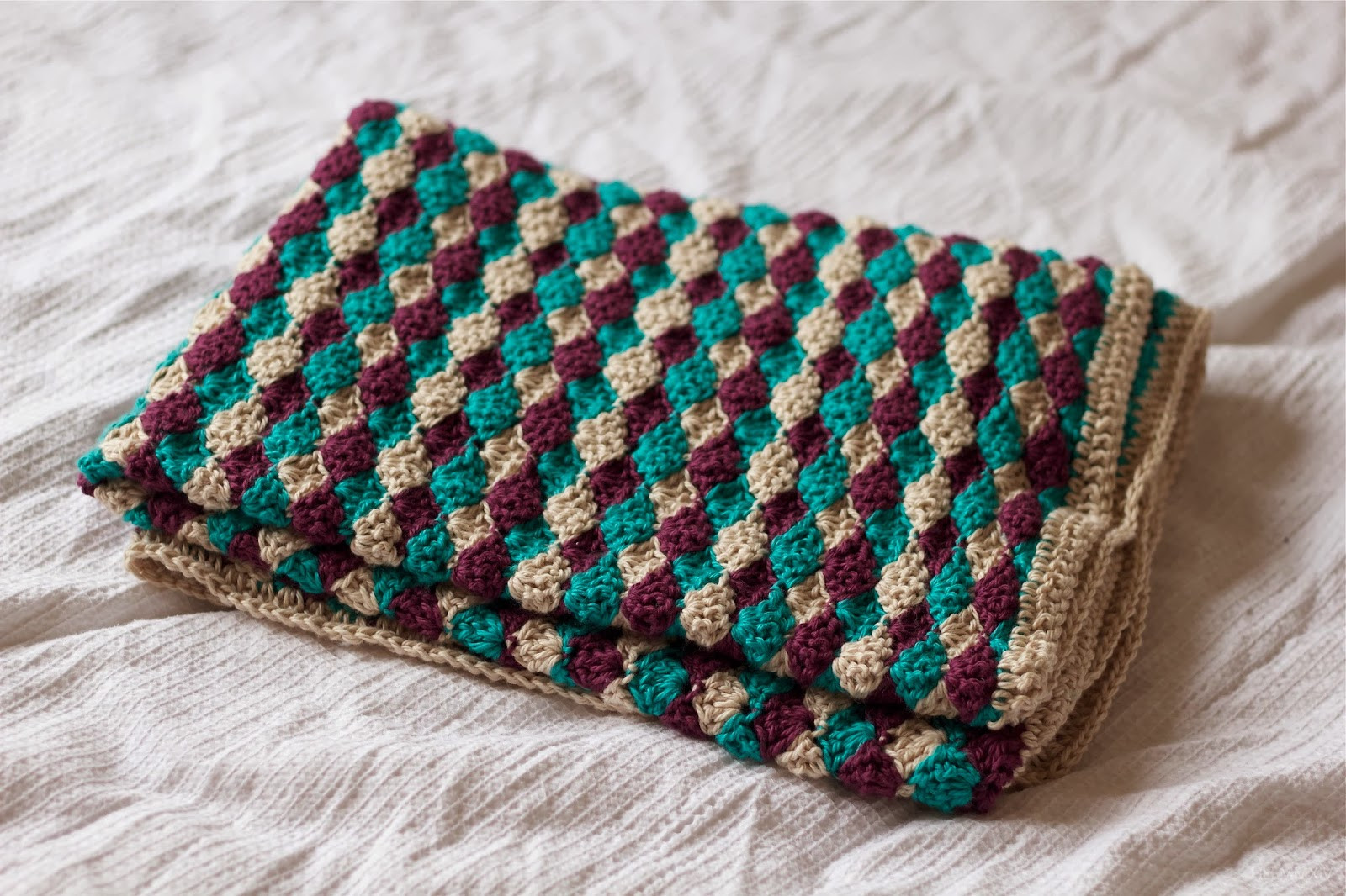 Crochet Baby Blanket Shell Stitch