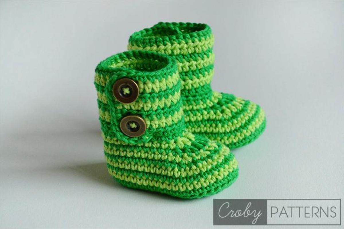 Beautiful Crochet Baby Booties Patterns for Sweet Little Feet Crochet Baby socks Of New Berry Baby Booties Knitting Pattern Easy Crochet Baby socks