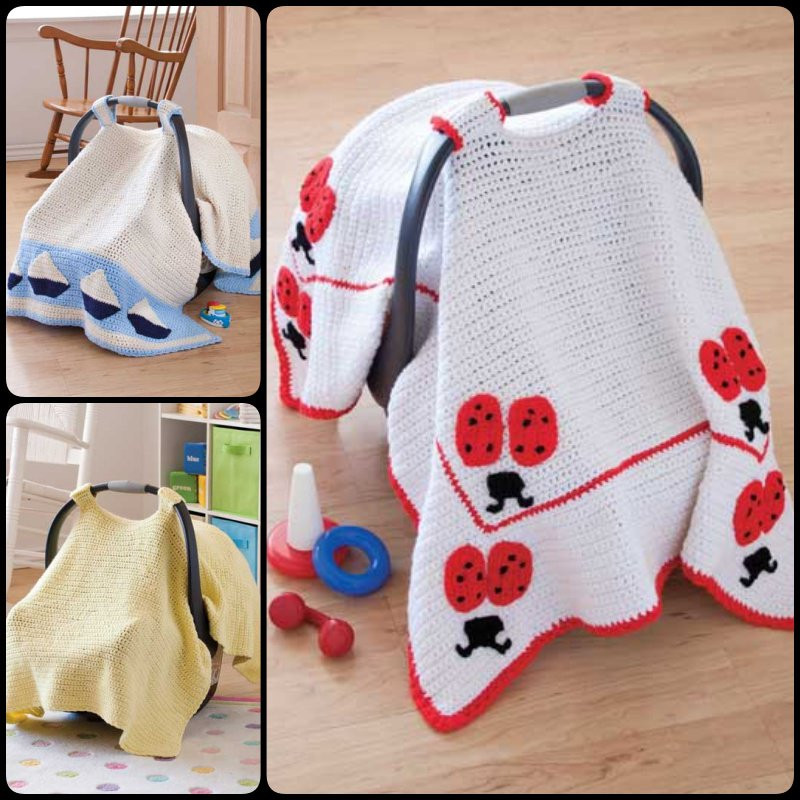 Beautiful Crochet Baby Car Seat Cover with Pattern Seat Cover Pattern Of Superb 46 Photos Seat Cover Pattern