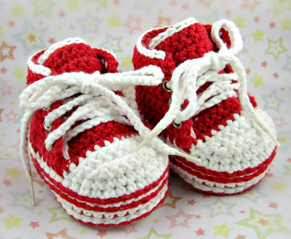 Beautiful Crochet Baby Converse Crochet Converse Baby Booties Of Wonderful 41 Models Crochet Converse Baby Booties