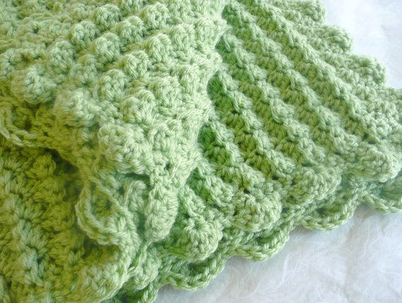 Beautiful Crochet Blanket Bobble Stitched Scalloped Edging Blanket Edging Of Great 41 Pics Blanket Edging