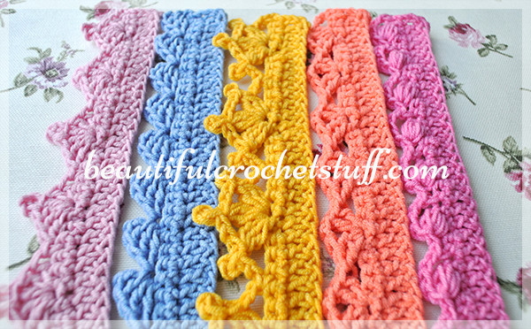 Beautiful Crochet Borders – top 5 Free Patterns Free Crochet Edging Patterns Of Perfect 47 Pics Free Crochet Edging Patterns