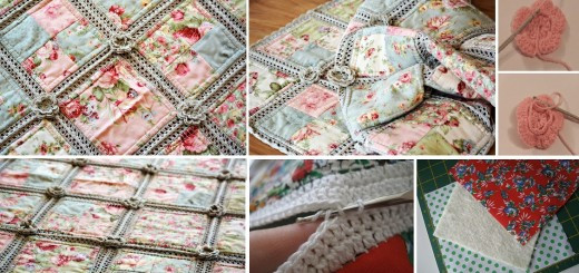 Beautiful Crochet Box Stitch Tutorial Pattern Crochet and Fabric Quilt Of Top 45 Models Crochet and Fabric Quilt
