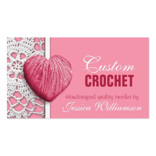 Crochet Business Card Templates Page2
