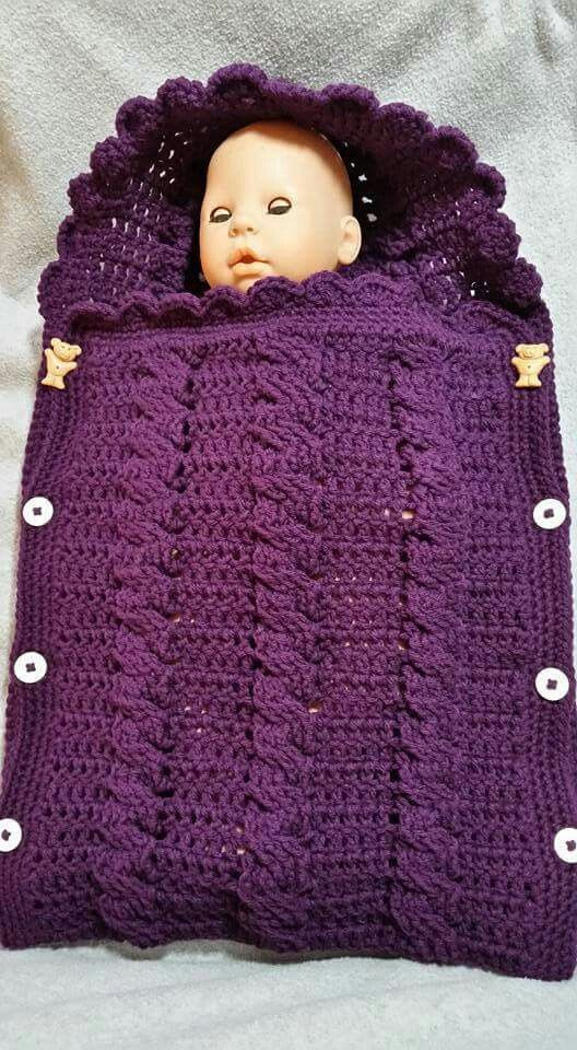 Beautiful Crochet Cable Stitch Newborn Baby Bunting Cocoon Video Crochet Baby Bunting Of Wonderful 41 Pics Crochet Baby Bunting