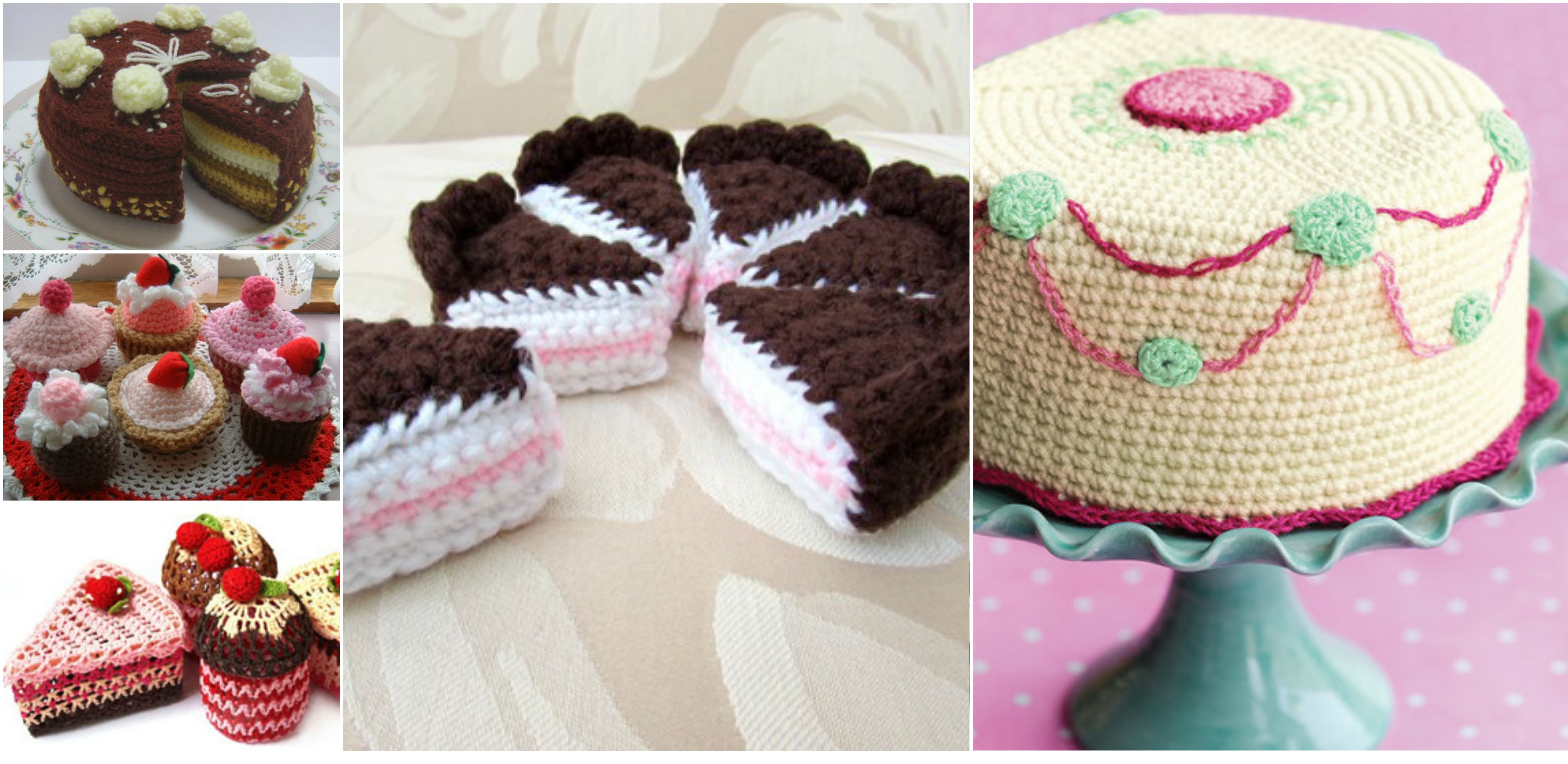 Beautiful Crochet Cake and Cupcakes Crochet Cake Of Incredible 40 Ideas Crochet Cake