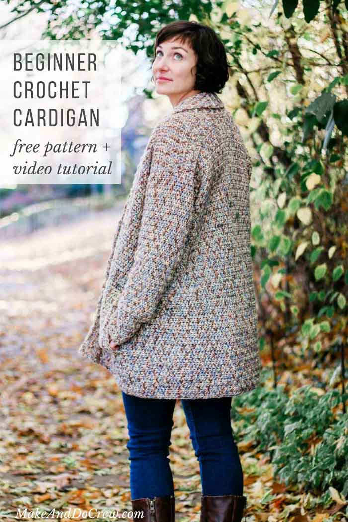Beautiful Crochet Cardigan Pattern for Beginners Free Pattern Easy Crochet Sweater Patterns Beginners Of Perfect 44 Ideas Easy Crochet Sweater Patterns Beginners