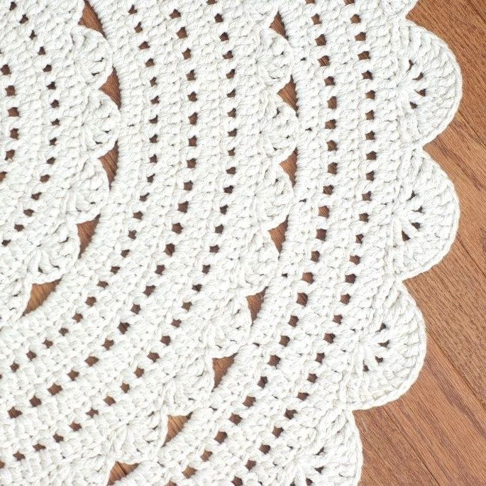 Beautiful Crochet Doily Rug No Pattern Here but I Think I Can Copy Doily Rug Of Fresh 50 Pics Doily Rug