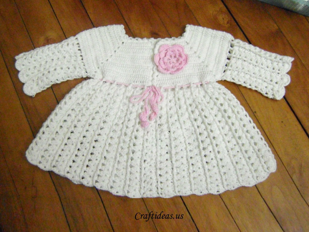 Beautiful Crochet Dress for Little Girls Long Sleeves Crochet Little Girl Dress Of Awesome 44 Images Crochet Little Girl Dress