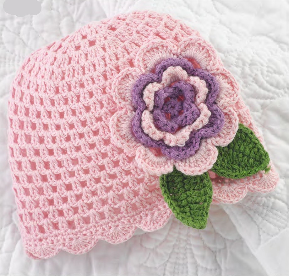 Beautiful Crochet Flower Patterns for Hats Crochet Flower for Hat Of Beautiful 45 Photos Crochet Flower for Hat