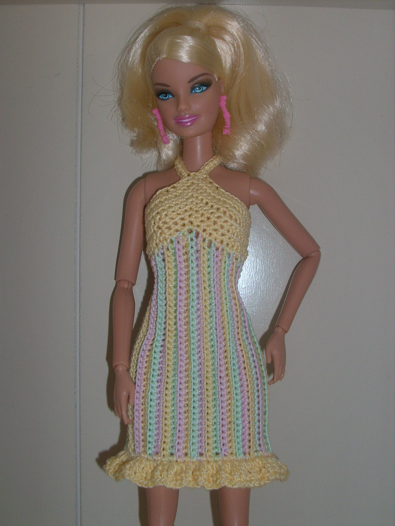 Beautiful Crochet for Barbie the Belly button Body Type Striped Barbie Doll Clothes Patterns Of Contemporary 50 Pictures Barbie Doll Clothes Patterns