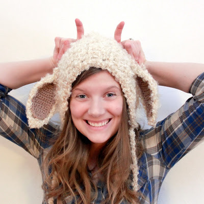 Beautiful Crochet for Free Lamb Hat Size Newborn to Adult Lamb Hat Of Awesome 46 Images Lamb Hat