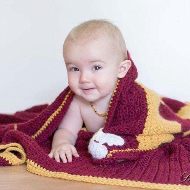 Beautiful Crochet Harry Potter Baby Blanket Gryffindor Baby Blanket Harry Potter Crochet Blanket Of Luxury 42 Models Harry Potter Crochet Blanket