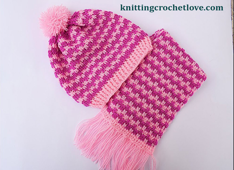 Beautiful Crochet Hat and Scarf Very Easy Free Pattern Videos Crochet Hat and Scarf Patterns Free Of Amazing 47 Pics Crochet Hat and Scarf Patterns Free