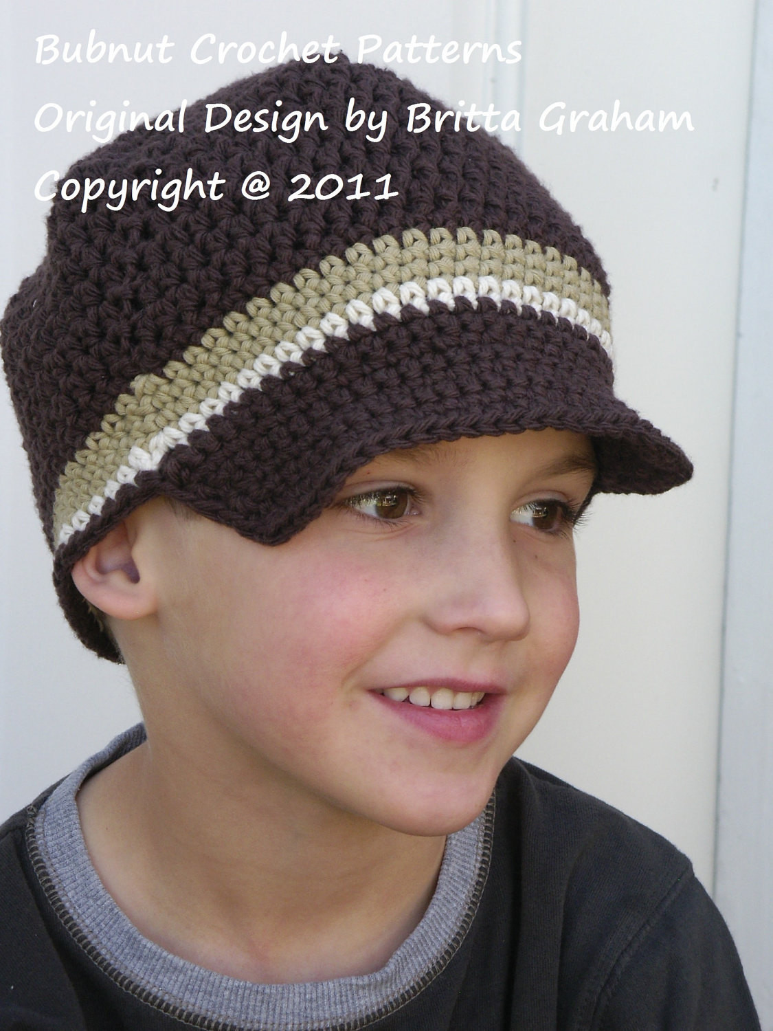 Crochet Hat Pattern Easy Peasy Newsboy Crochet Pattern