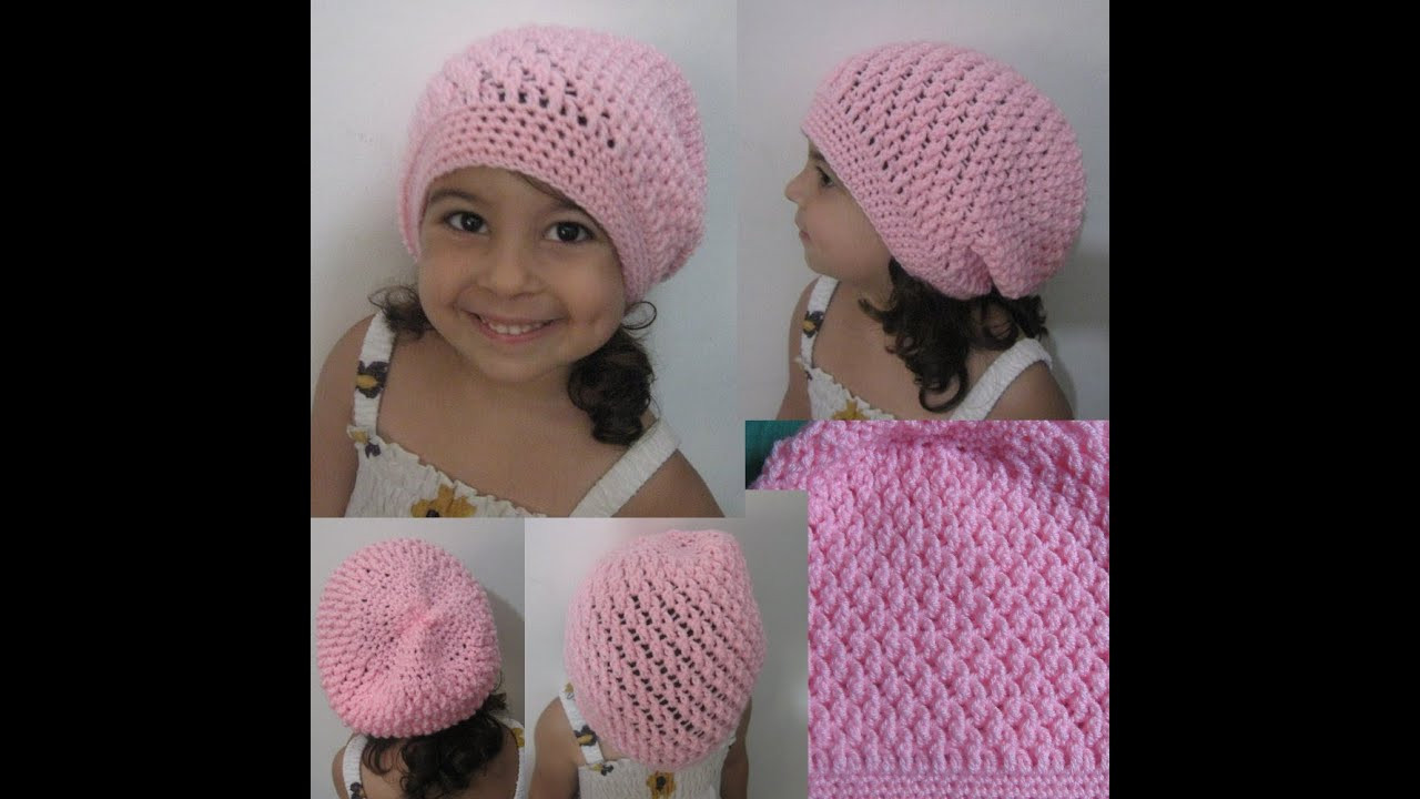 Beautiful Crochet Hat Squiggly Slouch Hat Tutorial toddler to Crochet Hat Video Of Adorable 49 Models Crochet Hat Video
