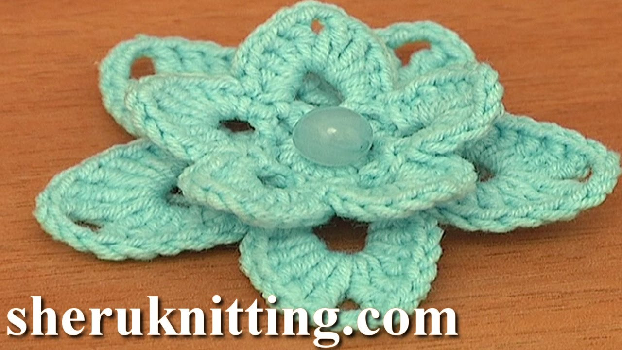 Beautiful Crochet Lily Tutorial 86 Free Crochet Flower Patterns Crochet Tutorial Youtube Of Amazing 43 Pics Crochet Tutorial Youtube