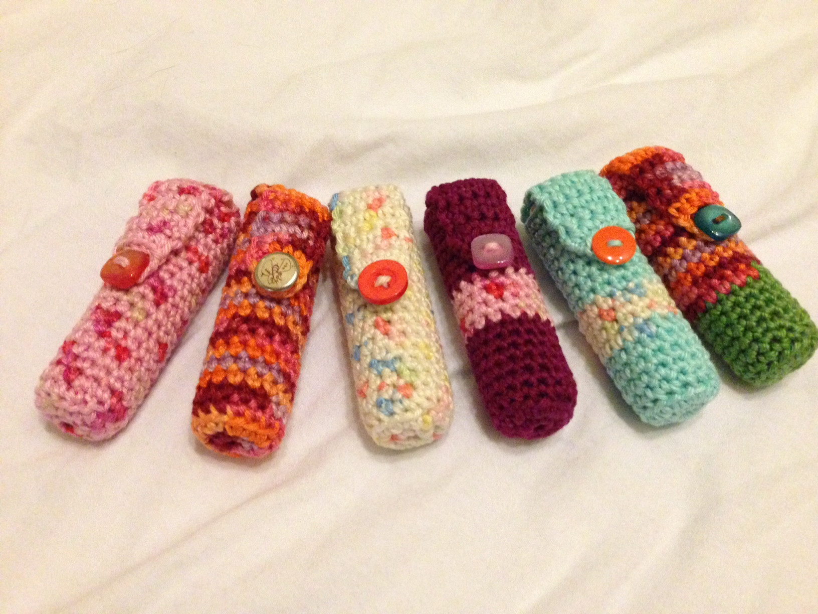 Beautiful Crochet Lip Balm Holders… Selling Crochet Of Top 47 Ideas Selling Crochet