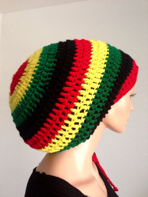 Beautiful Crochet Mega Rasta Tam Uni Dreadlocks Tam Bob Marley Hat Rasta Hat Crochet Pattern Of Incredible 43 Pictures Rasta Hat Crochet Pattern