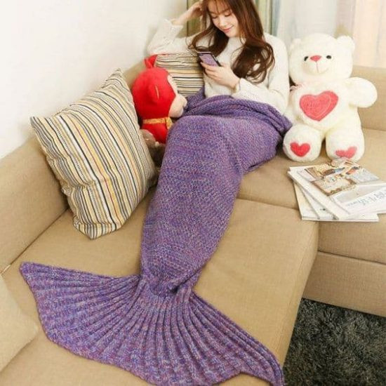 Beautiful Crochet Mermaid Blanket Tutorial Youtube Video Diy Knitted Mermaid Blanket Of Great 41 Images Knitted Mermaid Blanket
