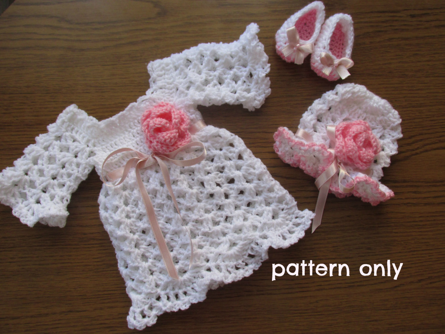Beautiful Crochet Pattern 3patterns In One Baby Dress Crochet Baby Dress Baby Dress Patterns Of Perfect 47 Models Baby Dress Patterns