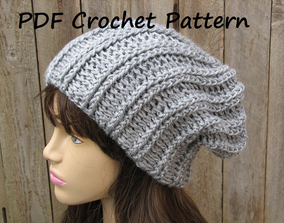Beautiful Crochet Pattern Crochet Hat Slouchy Hat Crochet Easy Crochet Hat Patterns for Beginners Of Perfect 43 Models Easy Crochet Hat Patterns for Beginners