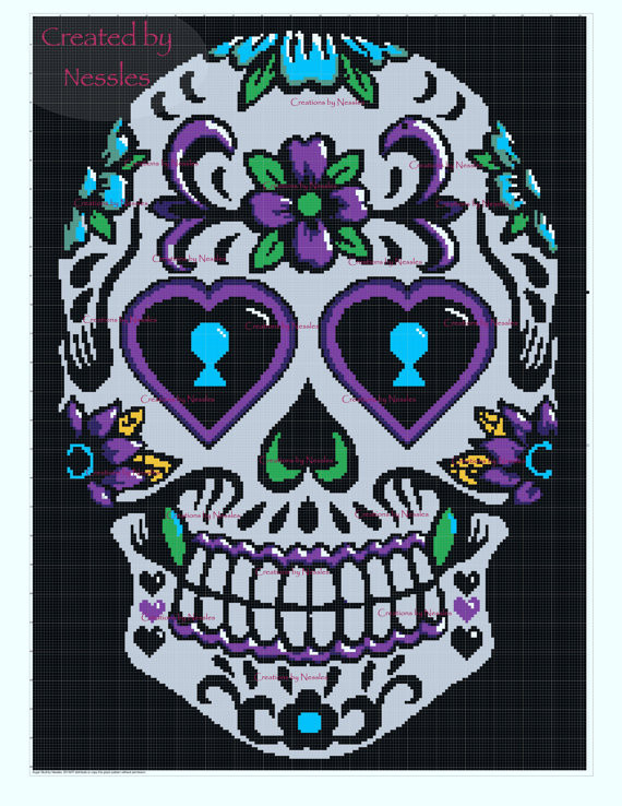 Beautiful Crochet Pattern Round Up Sugar Skull Designs – Crochetville Crochet Sugar Skull Of Incredible 47 Pictures Crochet Sugar Skull