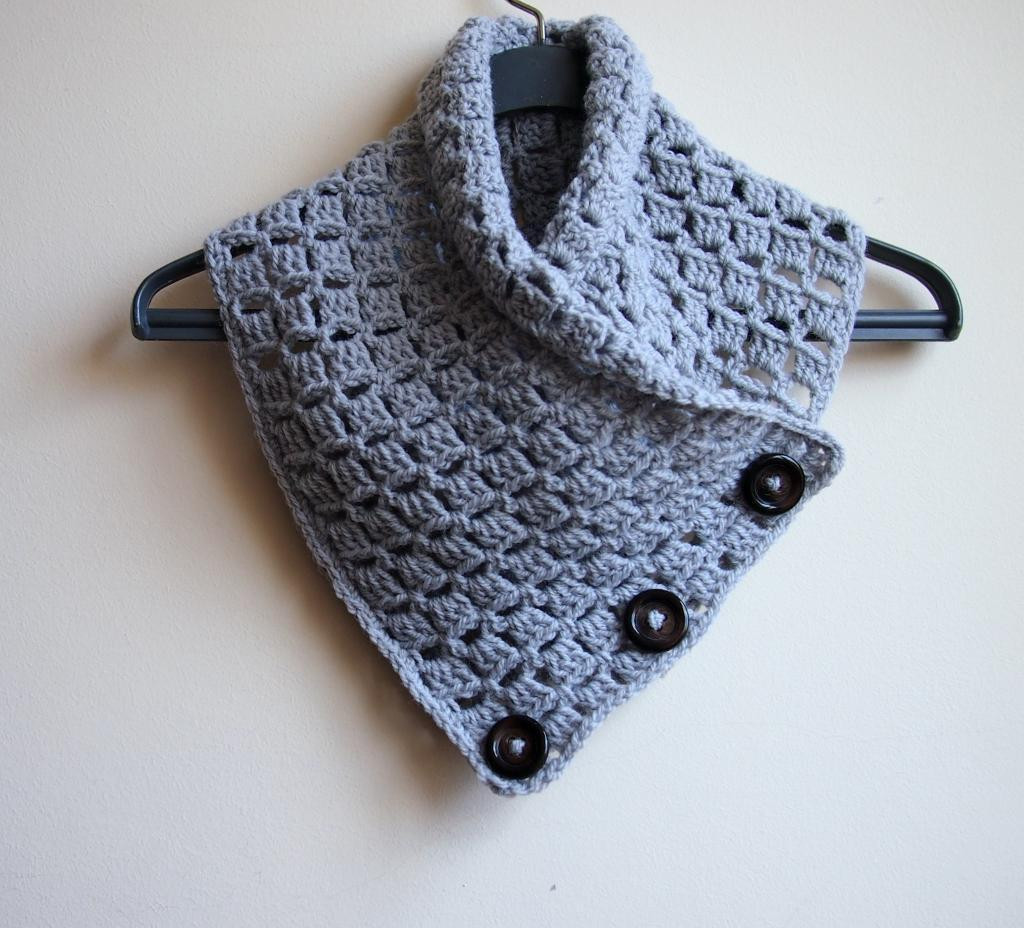 Beautiful Crochet Patterns Featuring buttons and Unique buttonholes Crochet Cowl Scarf Pattern Of Superb 47 Pics Crochet Cowl Scarf Pattern