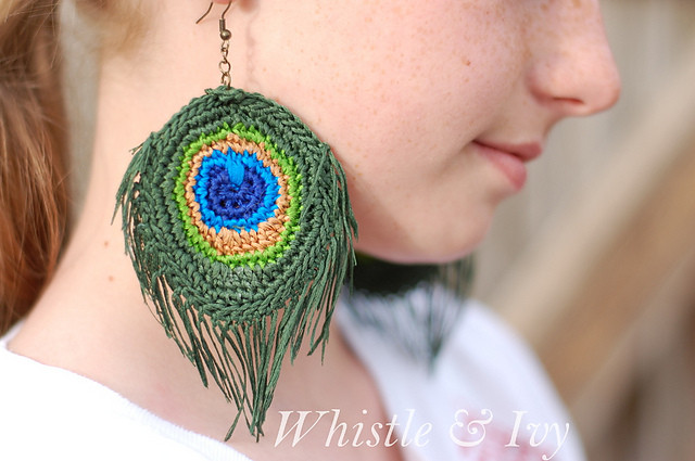 Beautiful Crochet Patterns Galore Peacock Feather Earrings Crochet Peacock Feather Of Great 44 Models Crochet Peacock Feather