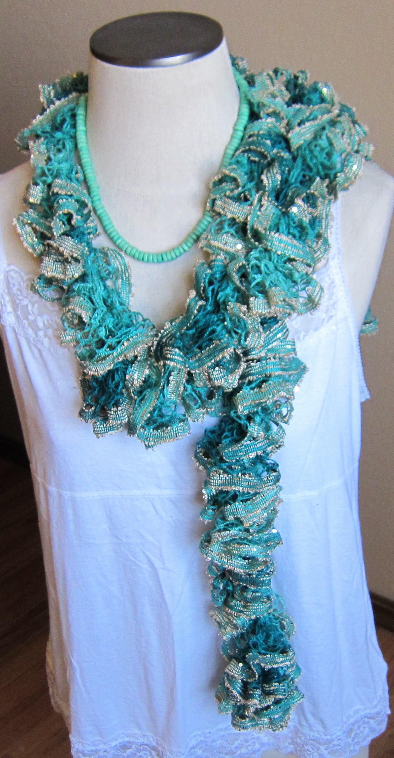 Beautiful Crochet Scarf Made with Red Heart Boutique Sashay Boho In Sashay Scarf Of Fresh 40 Models Sashay Scarf