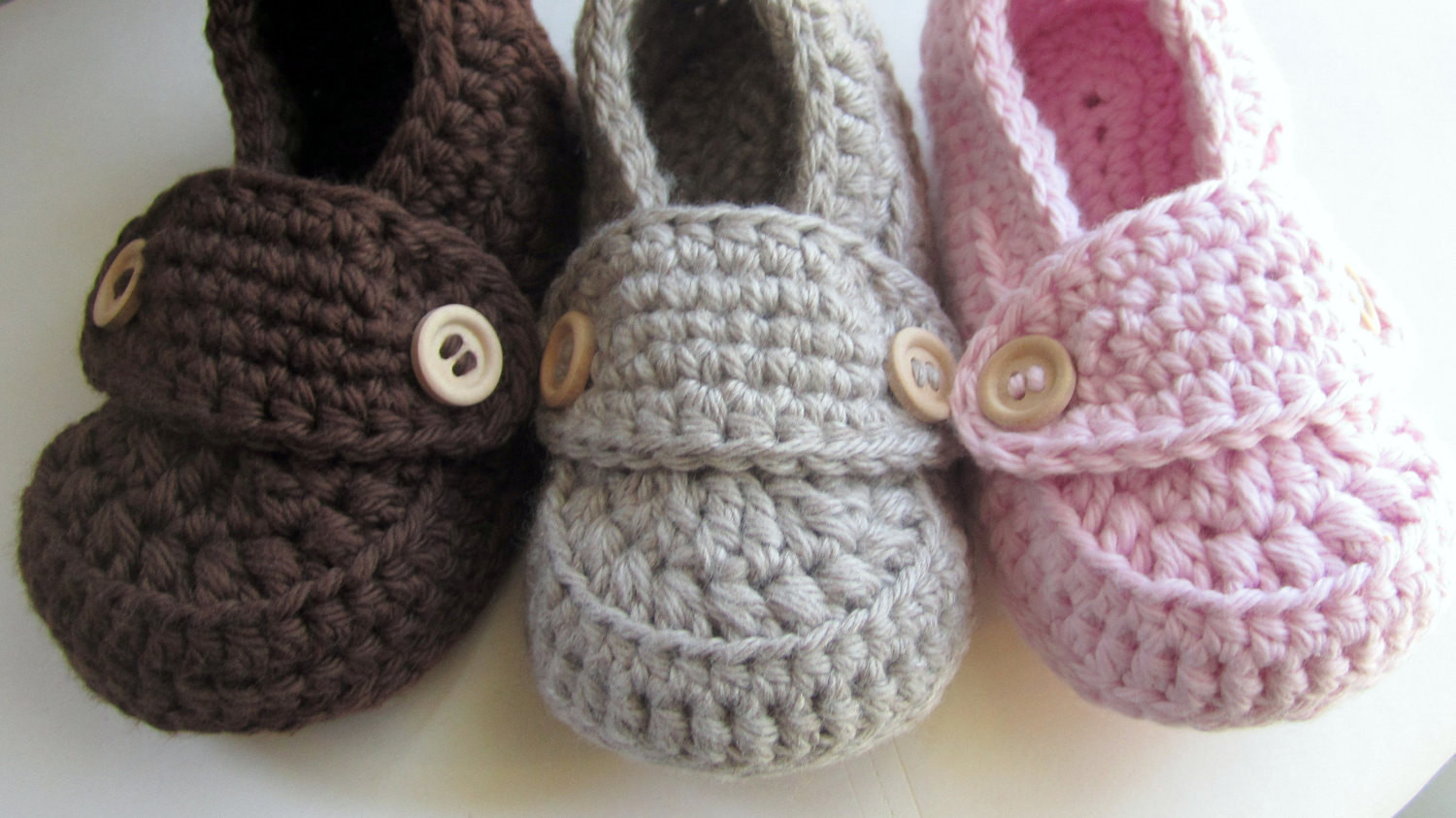Beautiful Crochet Slippers for Baby Crochet Baby socks Of New Berry Baby Booties Knitting Pattern Easy Crochet Baby socks