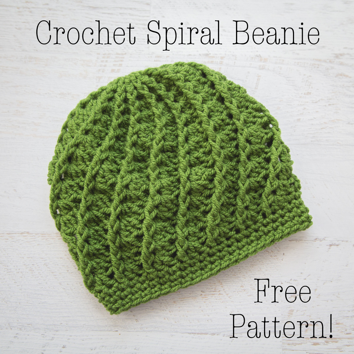 Beautiful Crochet Spiral Beanie – Free Crochet Pattern Loganberry Crochet Baby Beanie Free Pattern Of Great 42 Pictures Crochet Baby Beanie Free Pattern