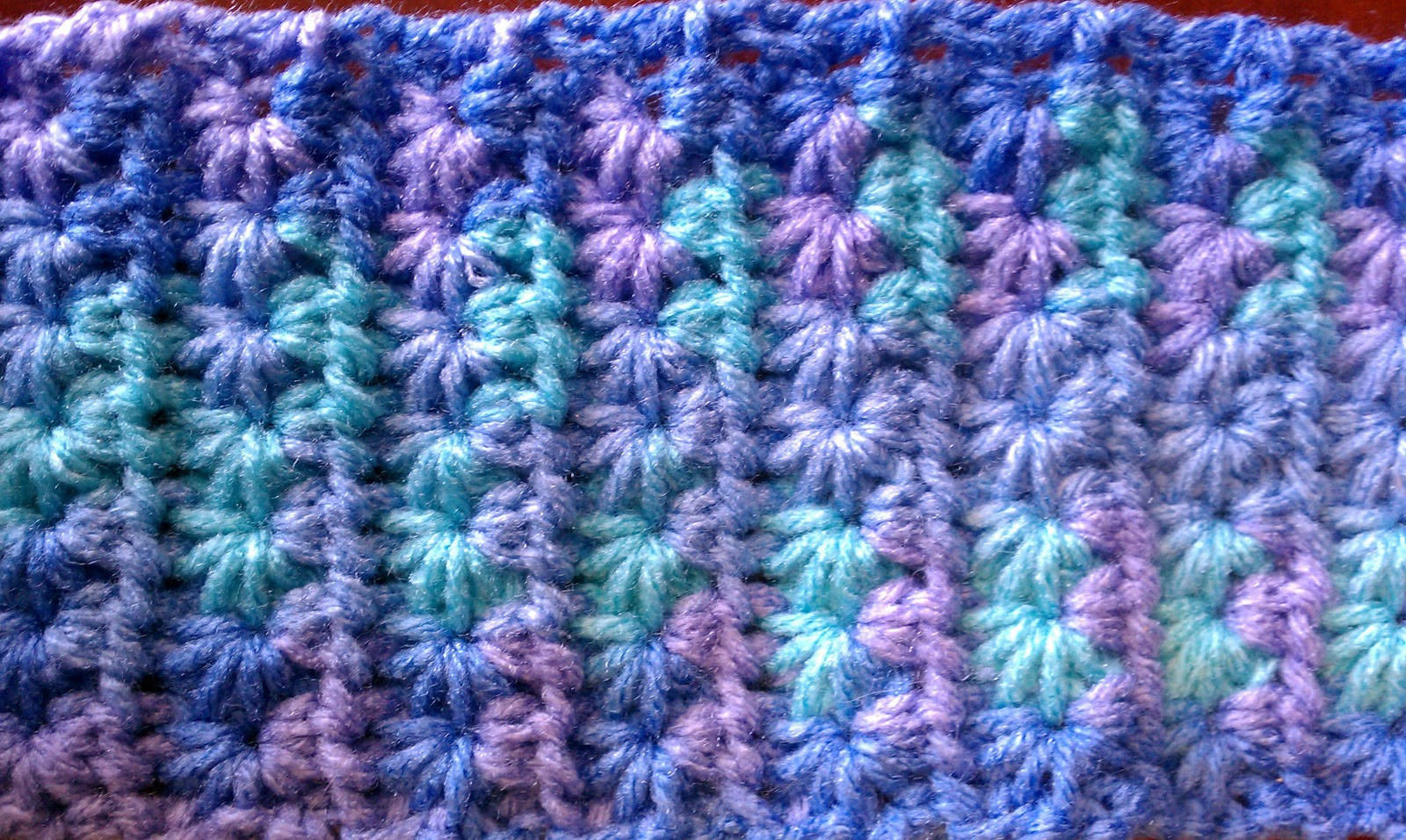 Crochet Star Stitch Tutorial and Patterns