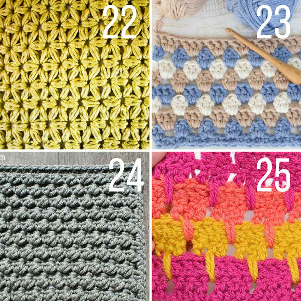 Beautiful Crochet Stitches for Blankets Afghans 3 Make & Do Crew Crochet Blanket Stitch Pattern Of Top 45 Ideas Crochet Blanket Stitch Pattern