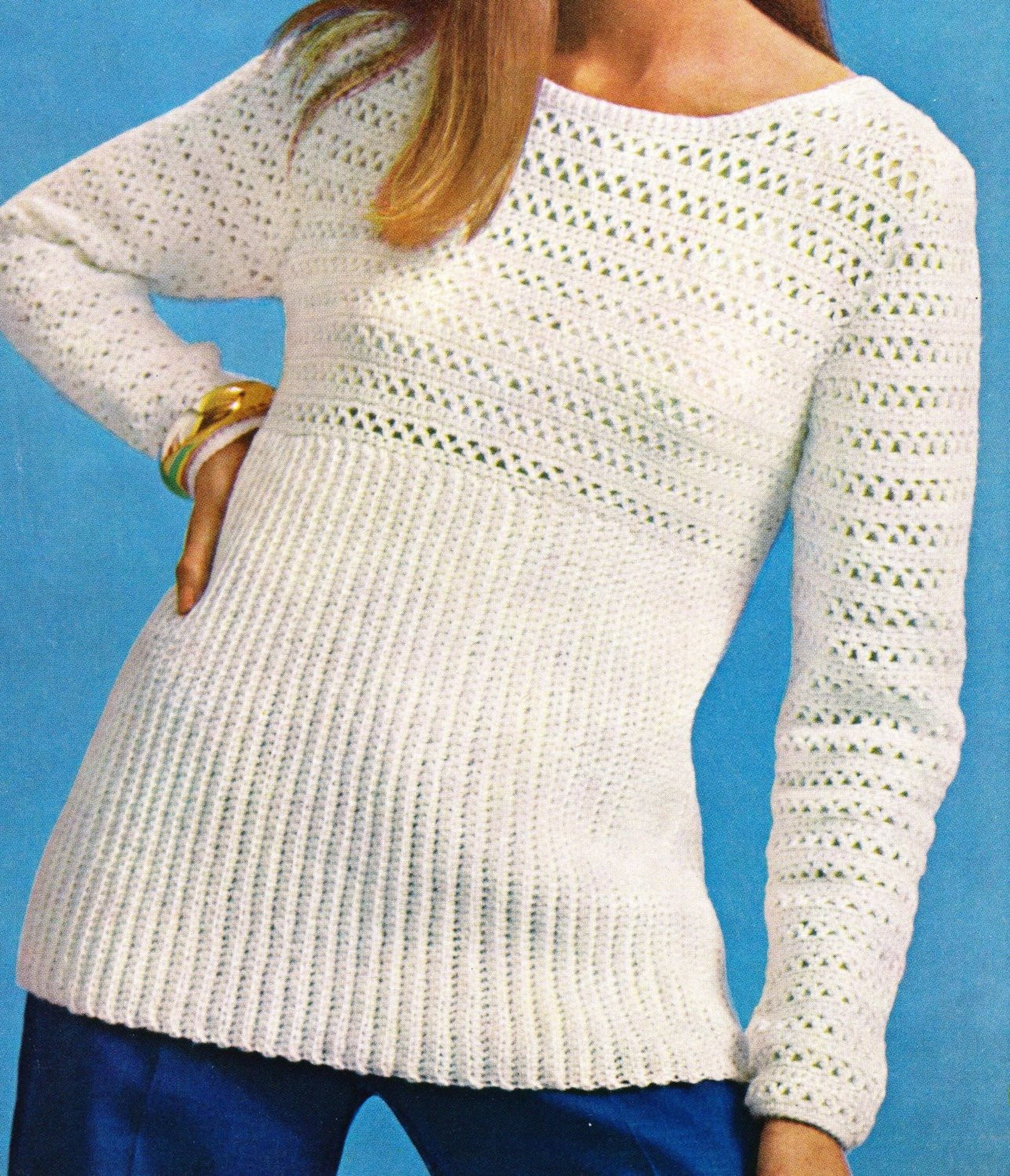 Beautiful Crochet Sweater Pullover Pattern Womens Crochet Sweater Sweaters Crochet Patterns Of Luxury 45 Images Sweaters Crochet Patterns
