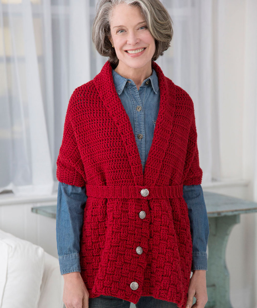 Beautiful Crochet Sweaters & Pullovers ⋆ Crochet Kingdom 38 Free Red Heart Sweater Of Fresh Free Pattern Summer Night Sweater In Red Heart soft Red Heart Sweater