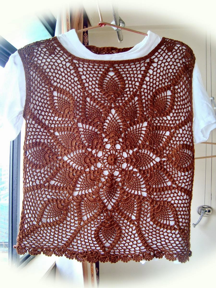 Crochet Sweaters Crochet Vest Pattern Wonderful
