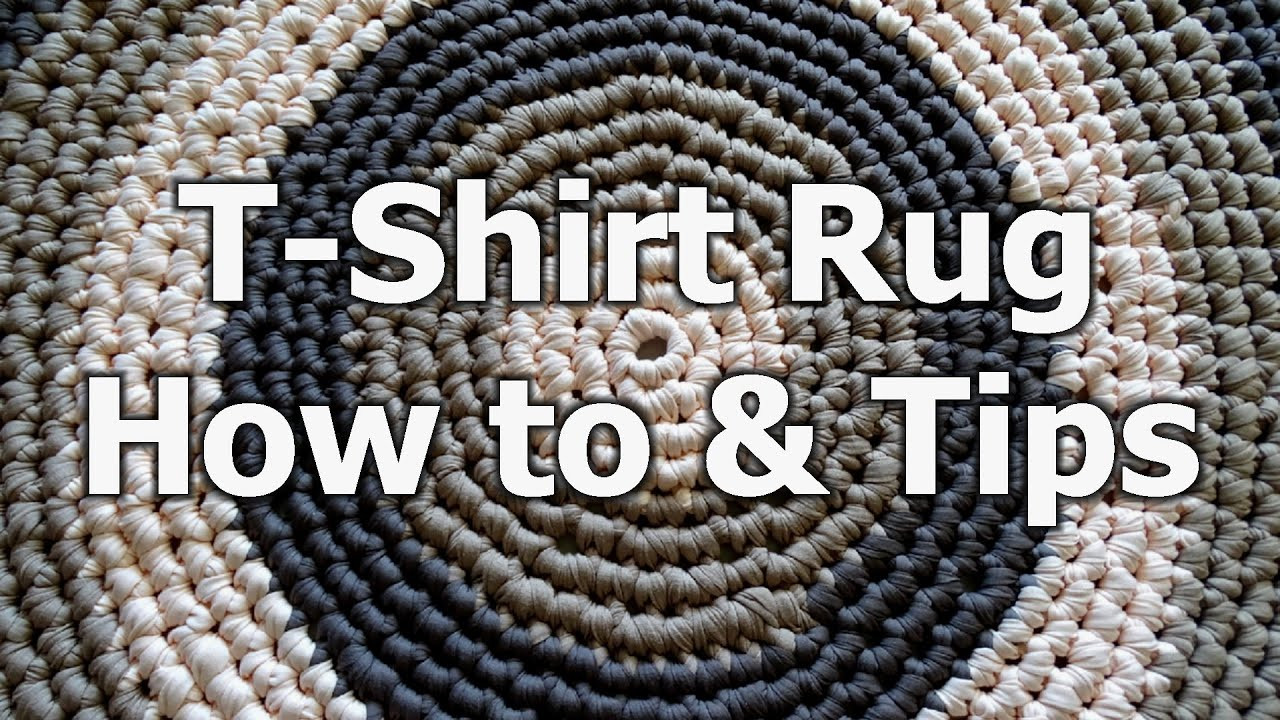 Crochet T Shirt Yarn Rug How to & tips Crochet