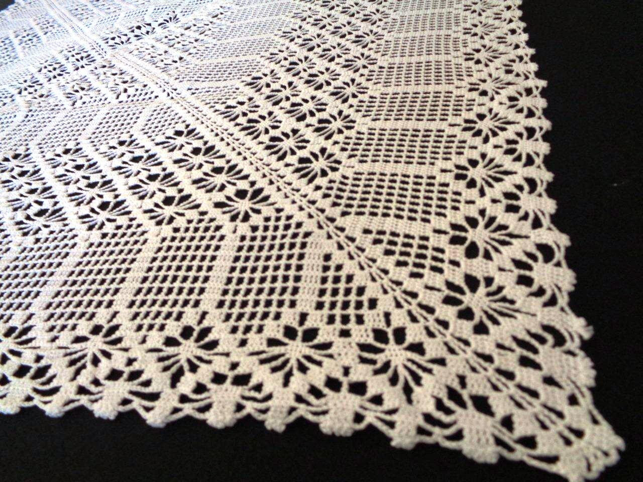 Beautiful Crochet Tablecloth Square Table Runner Handmade Crochet Crochet Lace Tablecloths Of Luxury 47 Images Crochet Lace Tablecloths