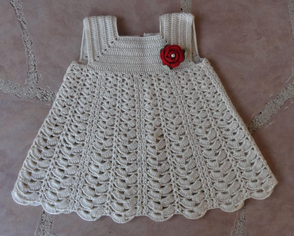 Beautiful Crochet Thread Baby Dress Pattern Pakbit for Baby Dress Patterns Of Perfect 47 Models Baby Dress Patterns