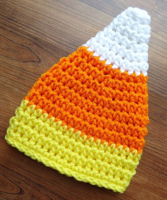 Beautiful Crocheted Candy Corn Hat Halloween Hat Boy Girl Baby Candy Corn Hat Of Incredible 42 Pictures Candy Corn Hat