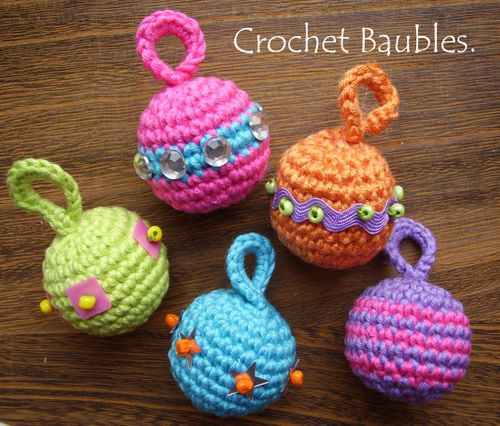 crocheted christmas tree ornaments patterns