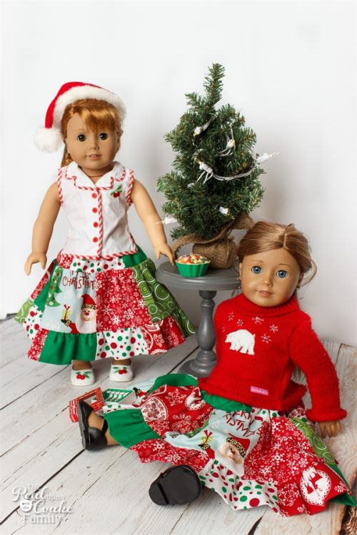 Beautiful Cute Christmas Twirl American Girl Doll Clothes the Real American Girl Doll Christmas Outfits Of Wonderful 40 Ideas American Girl Doll Christmas Outfits